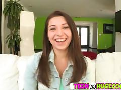 Sweet chick Ariana Grand getting horny