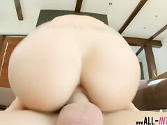 Yummy Mira Cuckhold happy in her creampied pussy in closeup