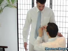 Elder sheds his garment