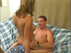 Matura blonde slut fucks with dildo before getting a hard anal fuck with dick