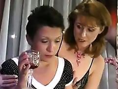 Mature Fetish, Brunette, Lesbian, Mature, Nylon, Old