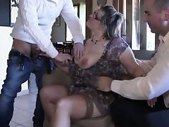 Banging, Ass, Banging, Blowjob, French, Gangbang