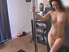 Sexy redhead with a hot ass enjoying a hardcore cowgirl style fuck