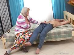 Mature amateur slut and male friend enjoys cock sucking and fucking
