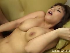 Angelic wife with big tits yelling while being penetrated hardcore