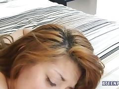 Teenie creampied by her sisters horny bf