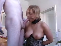 Slave Wife Gets Anal Creampie