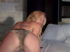 Hannah Harper sucks and rides a cock after some dirty spanking