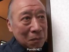 Grandpa, 18 19 Teens, Asian, Big Tits, Bimbo, Grandpa