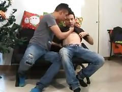 Eager twinks in vivid and hot gay sex fun