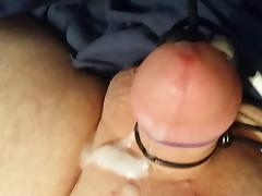 cumming handsfree with estim and vibe