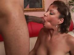 Vanessa Videl surprised with a big black cock