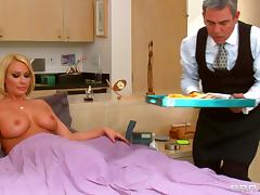 Porn Sweetheart Mellanie Monroe Is Fucking The Butler's Son