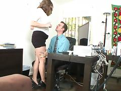 Secretary, Chubby, Couple, Hardcore, Office, Secretary