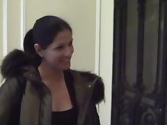 Leah in public toilet fuck scene with a slutty lassie