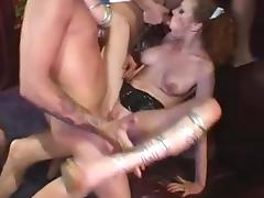 amazing audrey hard anal, dp and dap orgy