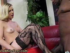 Interracial footworship
