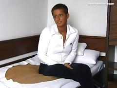 Short hair amateur gets fucked in a casting video clip