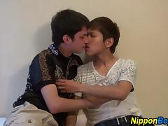 Cock fucking asian twinks
