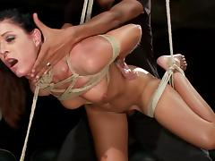 hot milf awfully bonded and banged