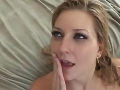 Perfect Blonde Goddess Fucks Every Way Which