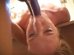 Sloppy Deepthroat Blowjob