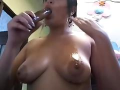 Antonella Colombiana witch bigg pussy & nice tits