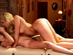 All, Desk, Lesbian, Massage, Masseuse