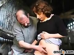 Hairy Mature Pussy Fucking In A Barn