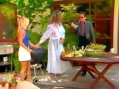Danielle, Jacqueline Lorians, Nikki Charm in classic fuck scene