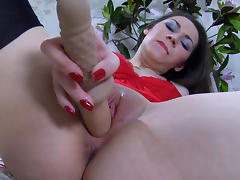 LacyNylons Video: Crystal