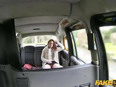 Bitchy Blonde teen Ella gets fucked hard for free ride