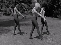 Pantyhosed Ladies Dance