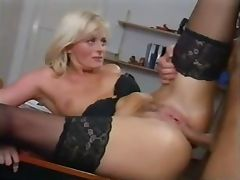 Mom, Anal, Blonde, Blowjob, Cougar, European