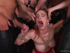 All, Babe, BDSM, Big Tits, Fucking, Gangbang