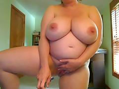 Pregnant, BBW, Big Tits, Boobs, Fucking, Masturbation