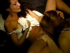Lesbian Slumber Party Scene#5