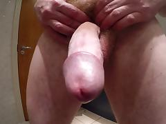 My hairy big cock cum now... hd 1080p