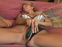 Skinny Blonde MILF Cameron V Suck and Fuck