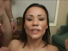 Bukkake, Asian, Bukkake, Swallow, Cum Drinking, Cum Swallowing