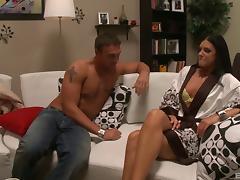 Choking, Ass, Babe, Blowjob, Choking, Couple