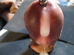Urethal Sounding masturbation Cumshot 2