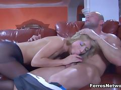 PantyhoseLine Video: Felicia C and Claud