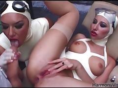 harmony vision latex lesbians in anal fetish