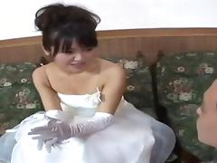 Married, Asian, Bride, Japanese, Teen, Wedding