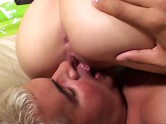 Stevie Shae with nice ass blows,licked and takes in real load Hardcore