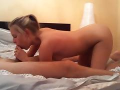 Enjoyable hotty copulates in this lengthy homemade sex tape