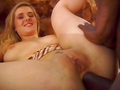Blonde Making Love To A Black Man MC169