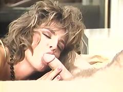 Candie Evans, Erica Boyer, Sharon Mitchell in vintage sex scene