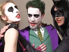 Hot sluts fucked by the joker